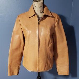 {GAP} Vintage Genuine Leather Jacket